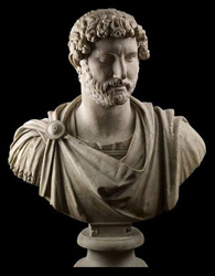 Bust of Hadrian (British Museum Exhibit)