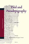 Paul and Pseudepigraphy